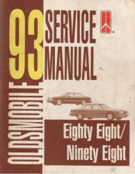 1993 Oldsmobile Eighty Eight and Ninety Eight Factory Service Manual