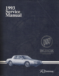 1993 Buick Riviera Factory Service Manual