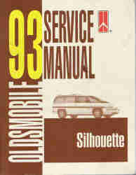 1993 Oldsmobile Silhouette Factory Service Manual
