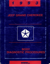 1993 Jeep Grand Cherokee Body Diagnostic Procedures