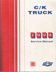 1994 Chevrolet GMC C/K Trucks Service & Electrical Manual with Diesel Driveability & Emissions Supplement- 3 Volume Set