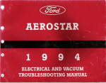 1994 Ford Aerostar Electrical and Vacuum Troubleshooting Manual
