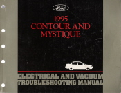 1995 Ford Contour and Mercury Mystique Electrical and Vacuum Troubleshooting Manual