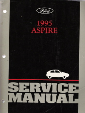 1995 Ford Aspire Factory Service Manual
