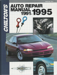 1991 - 1995 Chilton's Auto Repair Manual