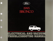 1995 Ford Bronco Electrical and Vacuum Troubleshooting Manual