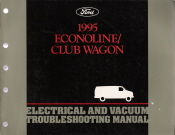 1995 Ford Econoline & Club Wagon - Electrical and Vacuum Troubleshooting Manual