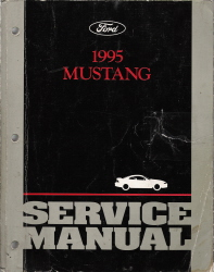 1995 Ford Mustang Factory Service Manual