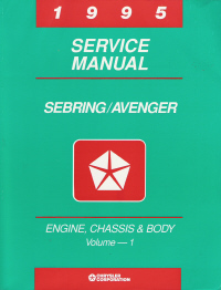 1995 Chrysler / Dodge - Sebring / Avenger Factory Service Manual