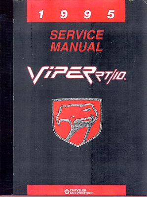 1995 Dodge Viper Body, Chassis & Drivetrain Electrical Shop Manual