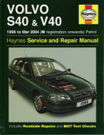 1996 - 2004 Volvo S40 & V40 including Turbo, GDI, T4 Haynes Repair Manual