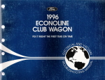 1996 Ford Econoline & Club Wagon - Wagon Electrical and Vacuum Troubleshooting Manual