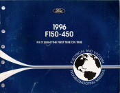 1996 Ford F150 - F450 Electrical and Vacuum Troubleshooting Manual