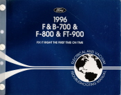 1996 Ford F&B-700 & F-800 & FT-900 Electrical and Vacuum Troubleshooting Manual