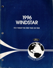 1996 - 1997 Ford Windstar Factory Service Manual