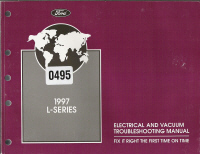 1997 Ford L-Series EVTM- Electrical & Vacuum Troubleshooting Manual