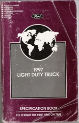1997 Light Duty Truck - Specification Book