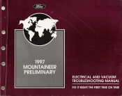 1997 Ford Mountaineer Preliminary Electrical and Vacuum Troubleshooting Manual