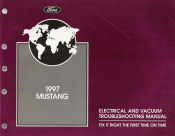 1997 Ford Mustang Electrical and Vacuum Troubleshooting Manual