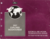 1997 Ford Explorer & Mercury Mountaineer Electrical and Vacuum Troubleshooting Manual (EVTM)