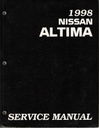 1998 Nissan Altima Factory Service Manual
