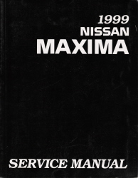 1999 Nissan Maxima Factory Service Manual