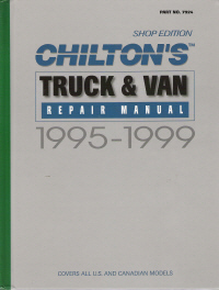 1995 - 1999 Chilton's Truck & Van Repair Manual, Shop Edition