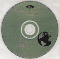 2000 Model Year Ford Truck & Van: Factory Workshop Information CD-ROM