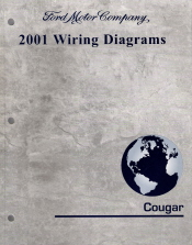 2001 Mercury Cougar - Wiring Diagrams