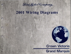 2001 Ford Crown Victoria & Mercury Grand Marquis Wiring Diagrams