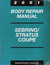 2001 Chrysler Sebring and Dodge Stratus Coupe Factory Body Repair Manual