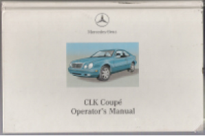 2001 Mercedes-Benz CLK Coupe Owner's Manual