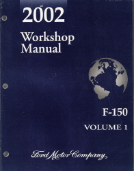 2002 Ford F150 Factory Shop Manual - 2 Volume Set
