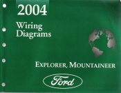 2004 Ford Explorer & Mercury Mountaineer -  Wiring Diagrams