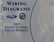 2005 Ford Crown Victoria, Mercury Grand Marquis- Wiring Diagrams