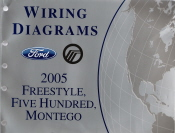 2005 Ford FreeStyle, Ford Five Hundred & Mercury Montego Wiring Diagrams
