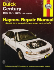 1997 - 2005 Buick Century Repair Manual, Haynes Repair Manual