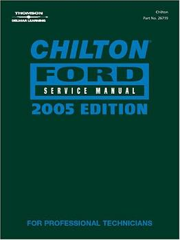 2005 Chilton's Ford Mechanical Service Manual (2001 - 2004 Year coverage)