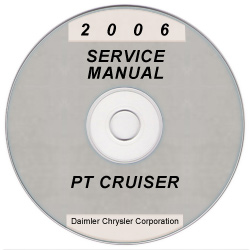 2006 Chrysler PT Cruiser Service Manual- CD Rom