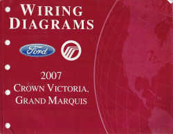 2007 Ford  Crown Victoria & Mercury Grand Marquis - Wiring Diagrams