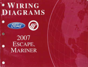 2007 Ford Escape & Mercury Mariner - Wiring Diagrams