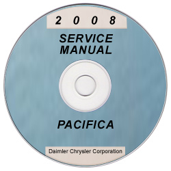2008 Chrysler Pacifica (CS) Service Manual ON CD
