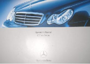 2005 Mercedes-Benz C-Class Sedan (Includes C55 AMG) Factory Owner's Manual Portfolio