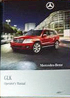 2011 Mercedes-Benz GLK-Class Factory Owner's Manual Portfolio