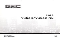 2012 GMC Yukon & Yukon XL Owner's Manual