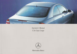 2005 Mercedes Benz CLK-Class Coupe Owner's Manual
