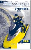 2000 Sea-Doo RX Factory Operator's Guide
