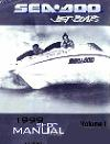 1999 Sea-Doo Sportster/1800 Challenger/1800 Factory Shop Manual