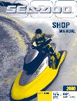 2000 Sea-Doo GS, GTX, GSX RFI, GTX RFI, XP, GTX RFI & GTI Factory Shop Manual