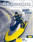 2000 Sea-Doo RX, RX DI & GTX DI Factory Shop Manual